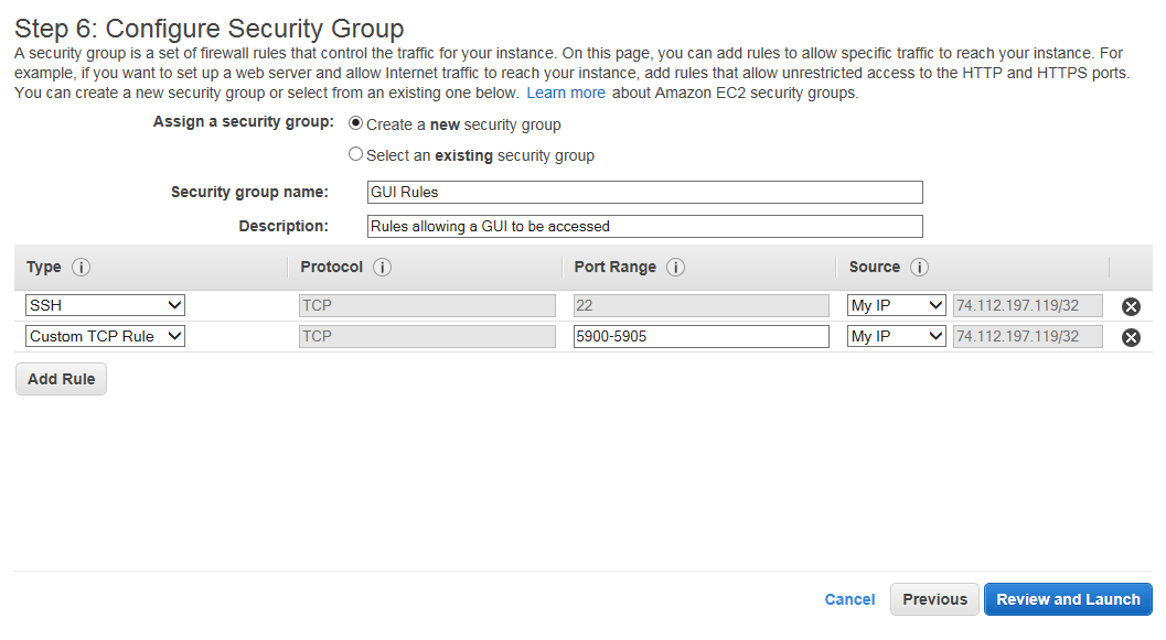 MakeSecurityGroupRules